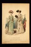 Fashion Plate; Anais Toudouze, Bonnard; 1891; LDFAN1990.53