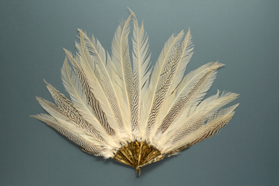 Feather Fan; c. 1920; LDFAN2003.87.Y