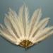 Feather Fan; c. 1920; LDFAN2003.87.Y