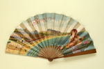 Advertising Fan Trouville & Biarritz ; c.1900; LDFAN2010.2.HA