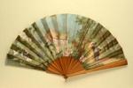 Folding Fan; c. 1880; LDFAN2003.22.Y
