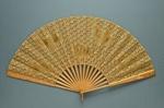 Folding Fan; c. 1880; LDFAN2003.208.Y