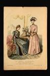 Fashion Plate; Anais Toudouze; 1889; LDFAN1990.64