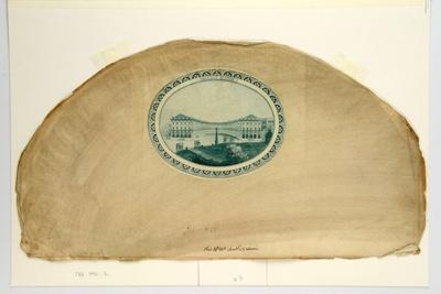 English Fan Leaf ; 1790s; LDFAN1990.16
