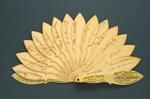 Brisé Fan; Hollis Street Theatre; 1892; LDFAN2003.137.Y