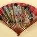 Advertising fan for Vera Mint liqueur; Ganné, J; c. 1918; LDFAN2003.420.HA