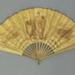 Folding fan advertising Louis Vuitton; c.1900; LDFAN2015.5