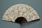 Folding Fan; c. 1900; LDFAN1998.9
