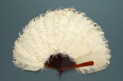 Feather Fan; c. 1900; LDFAN1995.20