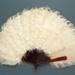 Feather Fan; c. 1900; LDFAN1995.20