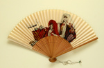 Advertising Kabuki Fan for National Panasonic; 1960s; LDFAN2003.362.Y