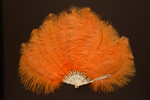 Feather Fan; c. 1920; LDFAN2003.60.Y