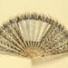 Folding Fan & Box; c. 1805; LDFAN2004.8