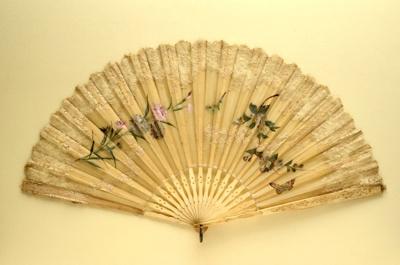 Folding Fan; c. 1890; LDFAN1994.209