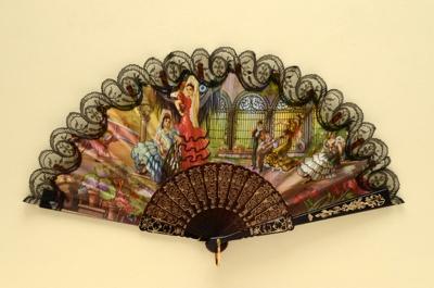 Folding Fan; 1980s; LDFAN1992.6