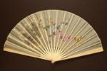 Folding Fan & Box; 1880s; LDFAN2003.280.Y
