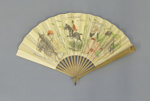 Advertising fan for 'Courses de Vichy'; c. 1900; LDFAN2015.15