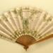 Folding fan advertising Cliquot champagne.; Leloir, Maurice; c. 1905; LDFAN2003.422.HA