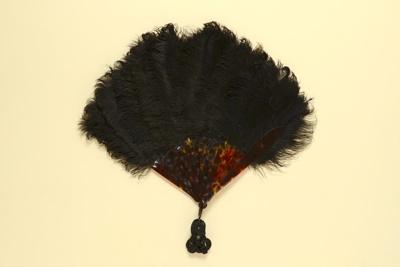 Feather Fan; c. 1900; LDFAN1992.10