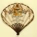Folding fan advertising Royal Origan perfume, Galeries Lafayette; Jean Gabriel Domerque; c. 1921; LDFAN2007.12.HA