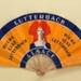 Advertising fan for Biere Lux, Lutterbach; E.T.I.O.P - PARIS; c. 1920s; LDFAN2001.41