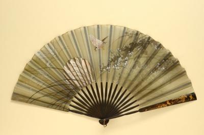 Japanese Folding Fan; c. 1890; LDFAN1994.235