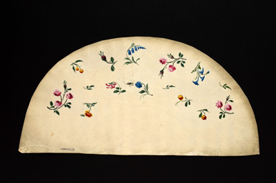 English Fan Leaf; c.1790; LDFAN2010.31.A