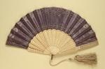 Folding Fan; c. 1860-70; LDFAN1998.26