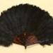Feather Fan; c. 1900; LDFAN2003.85.Y