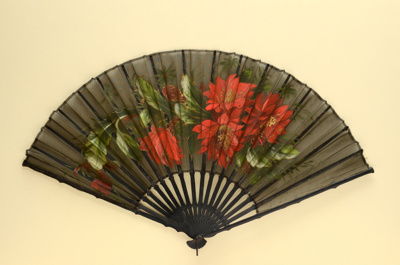 Folding Fan; c. 1880-1890; LDFAN1994.252