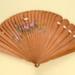 Brisé Fan; c. 1860; LDFAN1994.221
