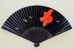Folding fan advertising Tasman Empire Airways (TEAL) ; c. 1960; LDFAN2005.38 A&B