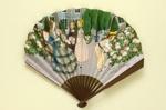 Folding fan advertising Floramye perfume for L.T. Piver; Devambez; LDFAN2007.5.HA