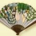 Folding fan advertising Floramye perfume for L.T. Piver; Devambez, Bernard B de Monvel; LDFAN2007.5.HA