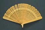Brisé Fan; c. 1920; LDFAN2003.77.Y
