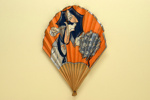 Advertising fan for A L'Idéal, Toulouse, France; Eventails Chambrelent; c.1900; LDFAN2011.75