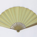 Wooden fan with paper leaf advertising Blois c.1900; LDFAN2010.10