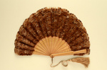 Feather Fan; c. 1890; LDFAN2010.109