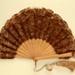 Feather Fan; c. 1910; LDFAN2010.109