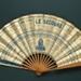 Folding fan advertising Chemins de Fer de l'Etat; C. A. Toubrac; c.1900; LDFAN2003.412.HA