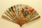 Advertising Fan for Benedictine Liqueur; Leloir, Maurice; c. 1900; LDFAN2003.427.HA