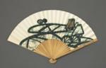 Folding Fan, Advertising 'Lufthansa'; LDFAN2021.6