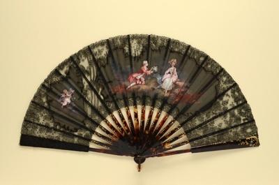 Folding Fan; c. 1890; LDFAN2010.139