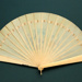 Ivory brise fan, painted German, c. 1870; LDFAN2003.265.Y