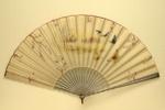Folding Fan; c. 1890; LDFAN2003.53.Y INCORRECT