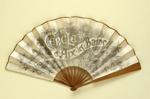 Folding fan advertising Cercle d'Aix les Bains; c.1900; LDFAN2009.57