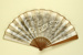 Folding fan advertising Cercle d'Aix les Bains; c.1900; LDFAN2009.57