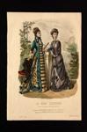 Fashion Plate; Anais Toudouze; 1878; LDFAN1990.76
