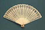 Ivory Brisé 'Tea-Chest' Fan; LDFAN1994.83