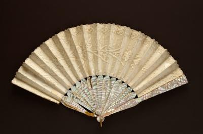 Folding Fan; c. 1870-1880; LDFAN1994.230